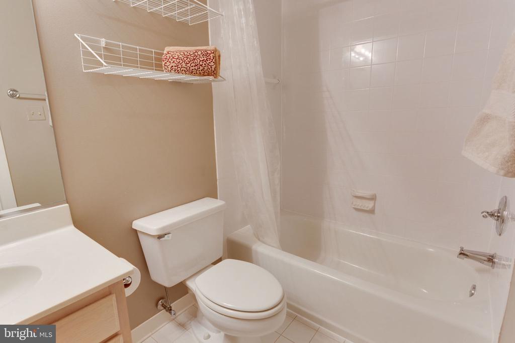 Full Bathroom on Lower Level - 8178 MADRILLON CT, VIENNA