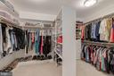 1 of 2 Walk-in Closets - 10810 TRADEWIND DR, OAKTON