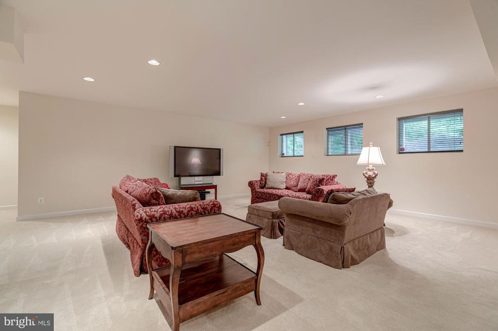 Recreation Room - 10810 TRADEWIND DR, OAKTON