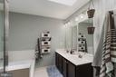 Dual Vanity, Soaking Tub and Shower - 20385 FARMGATE TER, ASHBURN