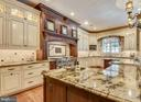 Showstopping top-of-the-line gourmet kitchen - 14416 LOYALTY RD, LEESBURG