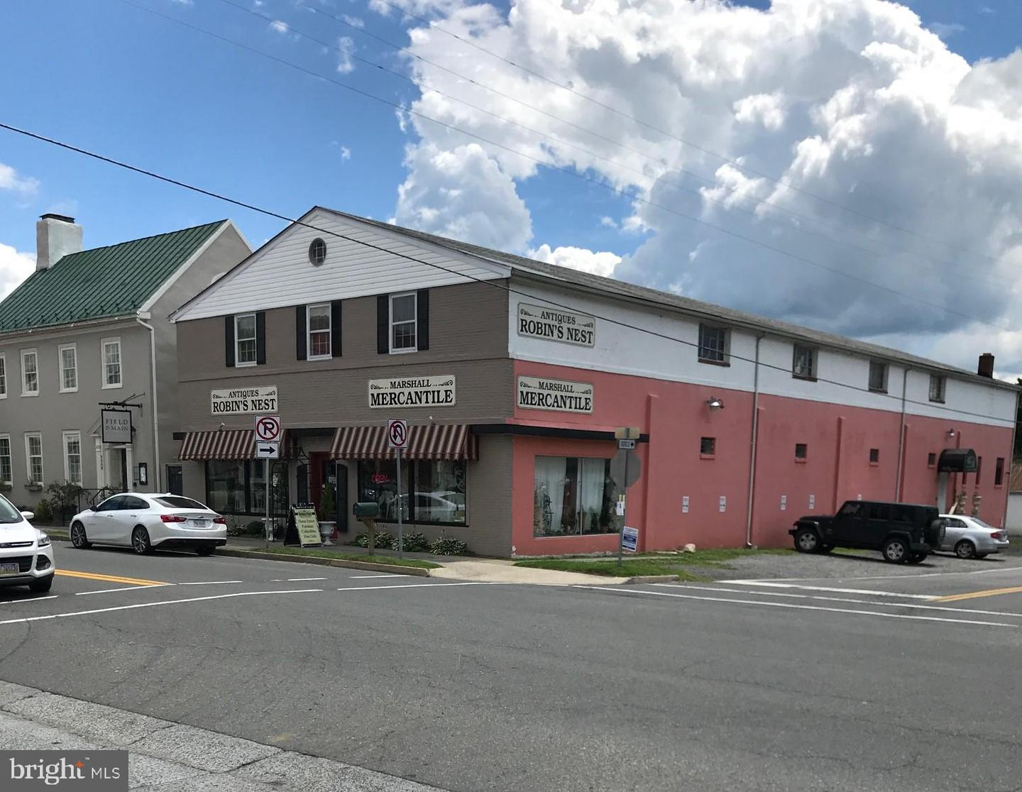 Commercial for Sale at 8371 W Main St 8371 W Main St Marshall, Virginia 20115 United States