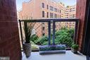 Main Level Balcony - 631 D ST NW #639, WASHINGTON