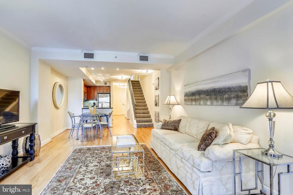 Living Room - 631 D ST NW #639, WASHINGTON