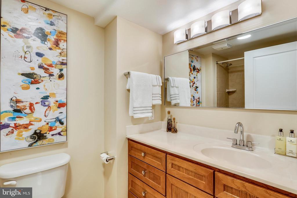 Upper Level Full Bath - 631 D ST NW #639, WASHINGTON