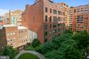 View From Private Balcony - 631 D ST NW #639, WASHINGTON
