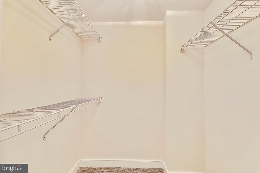 Walk in Closet in Master Suite - 631 D ST NW #639, WASHINGTON