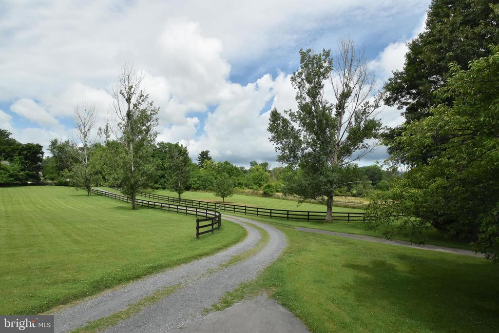 Partially Fenced Drive To Your New Home - 35112 BLOOMFIELD RD, ROUND HILL