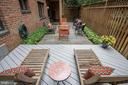 Chaise deck & patio - 4114 DAVIS PL NW #4, WASHINGTON