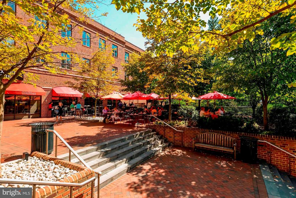 Outdoor cafes - 4114 DAVIS PL NW #4, WASHINGTON