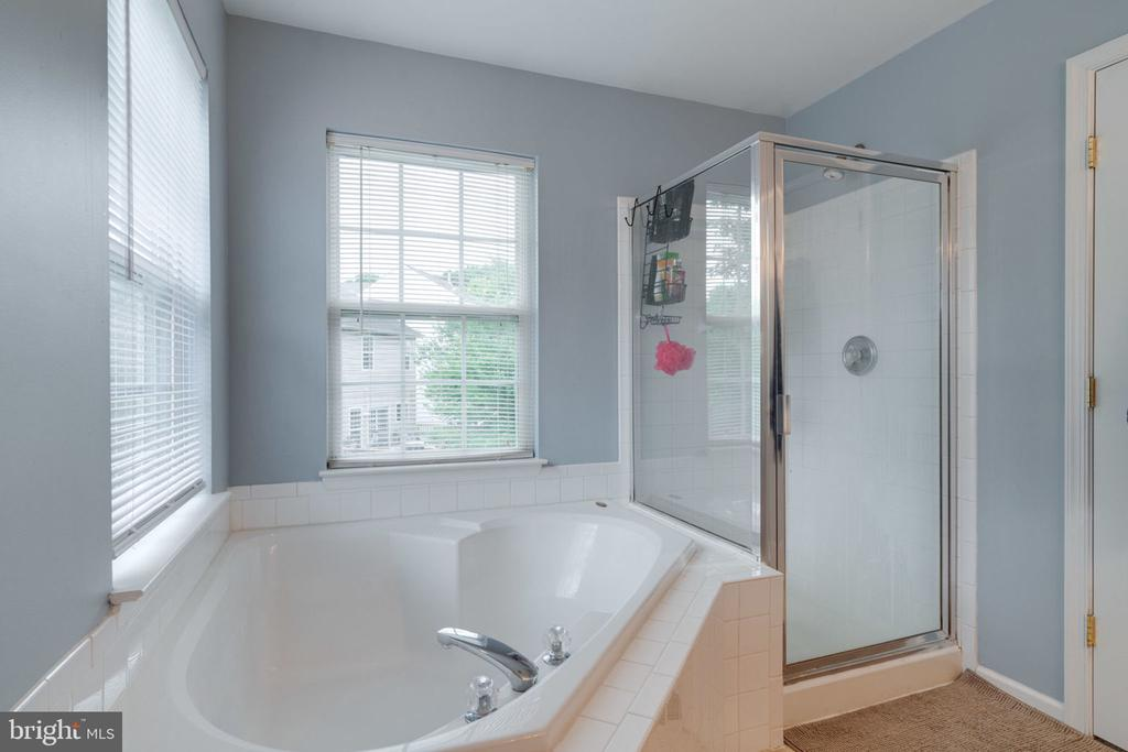 Soaking tub with shower in Master Bath! - 15542 MILLER SCHOOL PL, MANASSAS
