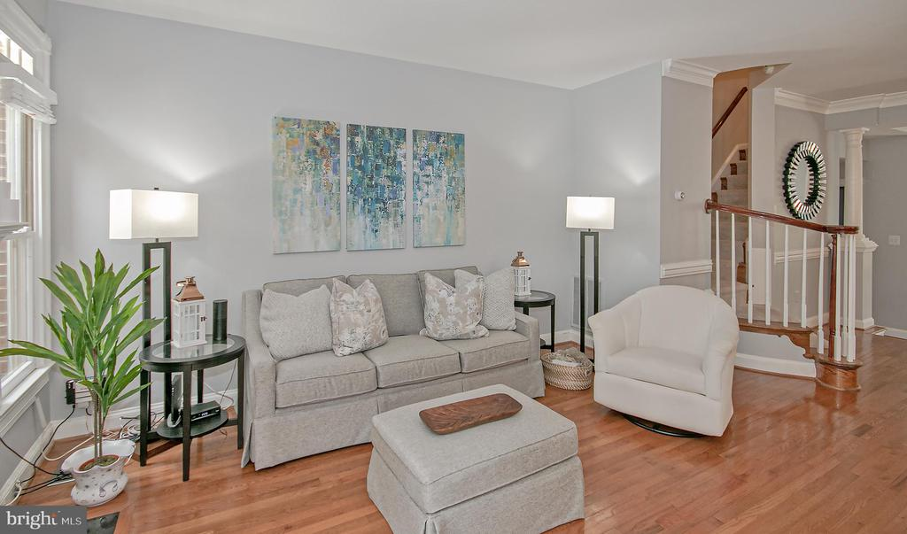 spacious family room - 2185 WOLFTRAP CT, VIENNA