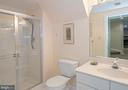 lower level bath - 2185 WOLFTRAP CT, VIENNA