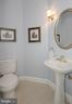 main floor powder room off stair landing - 2185 WOLFTRAP CT, VIENNA