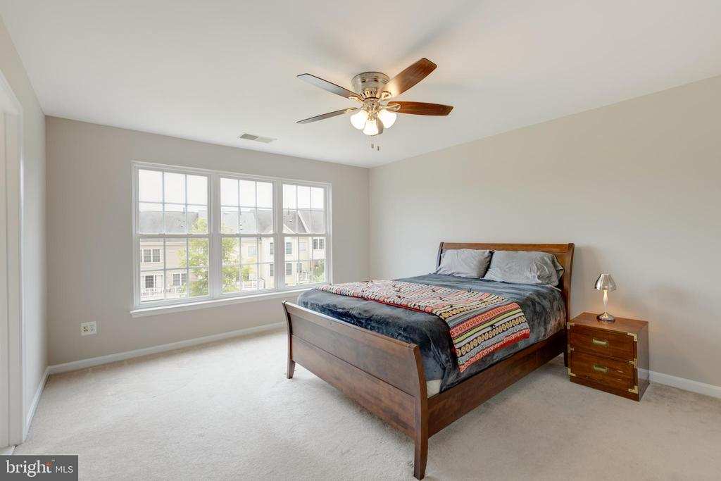 Master Bedroom open and spacious - 24612 NETTLE MILL SQ, ALDIE