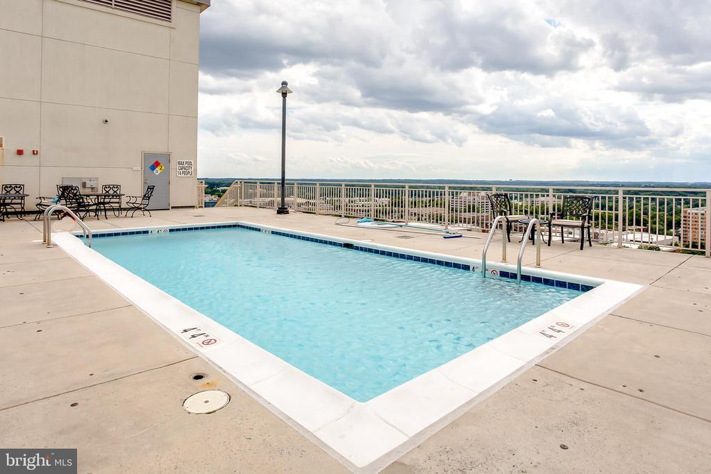 Wilton House: Rooftop Pool - 2726 GALLOWS RD #1213, VIENNA