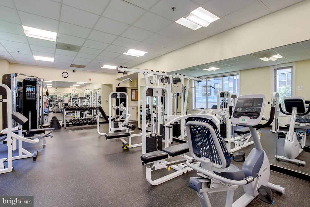 Wilton House: Fitness Center - 2726 GALLOWS RD #1213, VIENNA