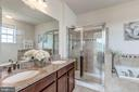 Master bathroom - 24604 BYRNE MEADOW SQ, ALDIE
