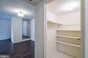 Great Closet Space - 11208 CHESTNUT GROVE SQ #212, RESTON