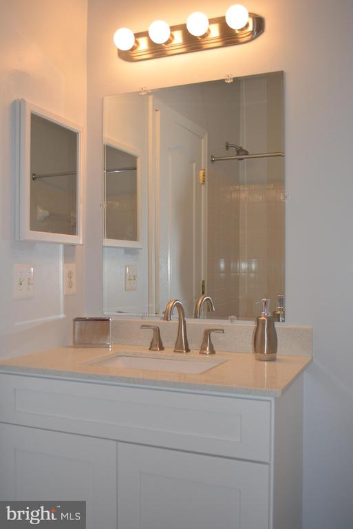 Upgraded Full bath in lower level - 43809 LEES MILL SQ, LEESBURG