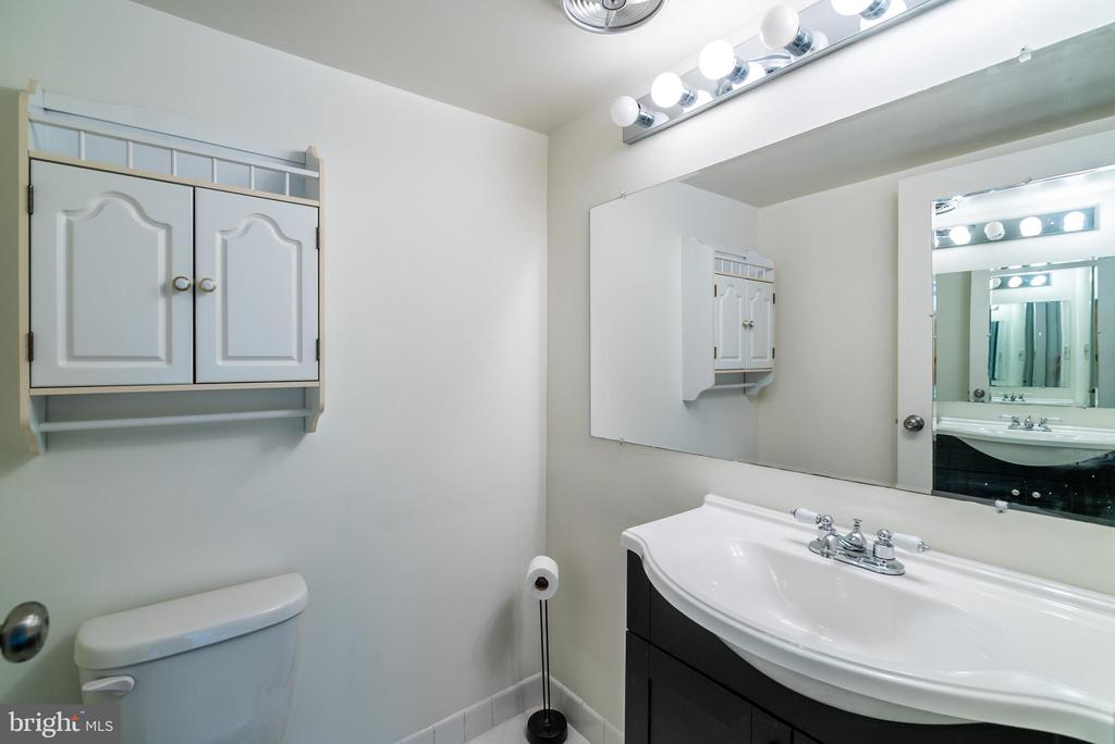 Updated Powder Room - 11208 CHESTNUT GROVE SQ #212, RESTON