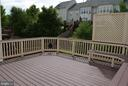 Composite, carefree, well-sized deck - 43809 LEES MILL SQ, LEESBURG