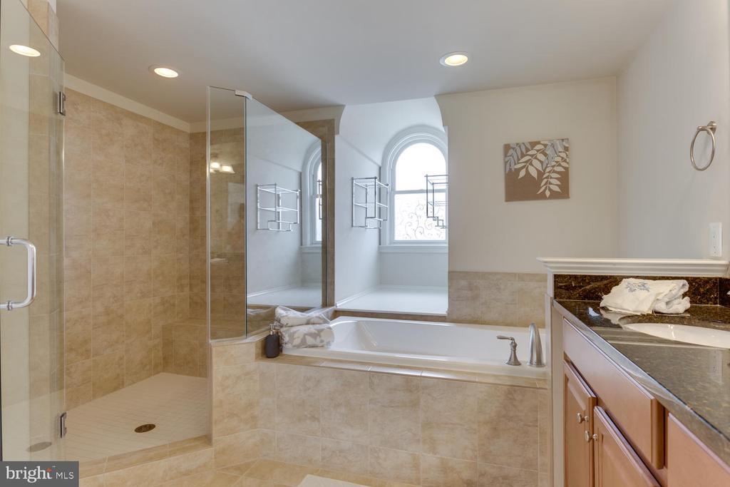 Luxurious Master Bath - 1318 DUKE ST, ALEXANDRIA