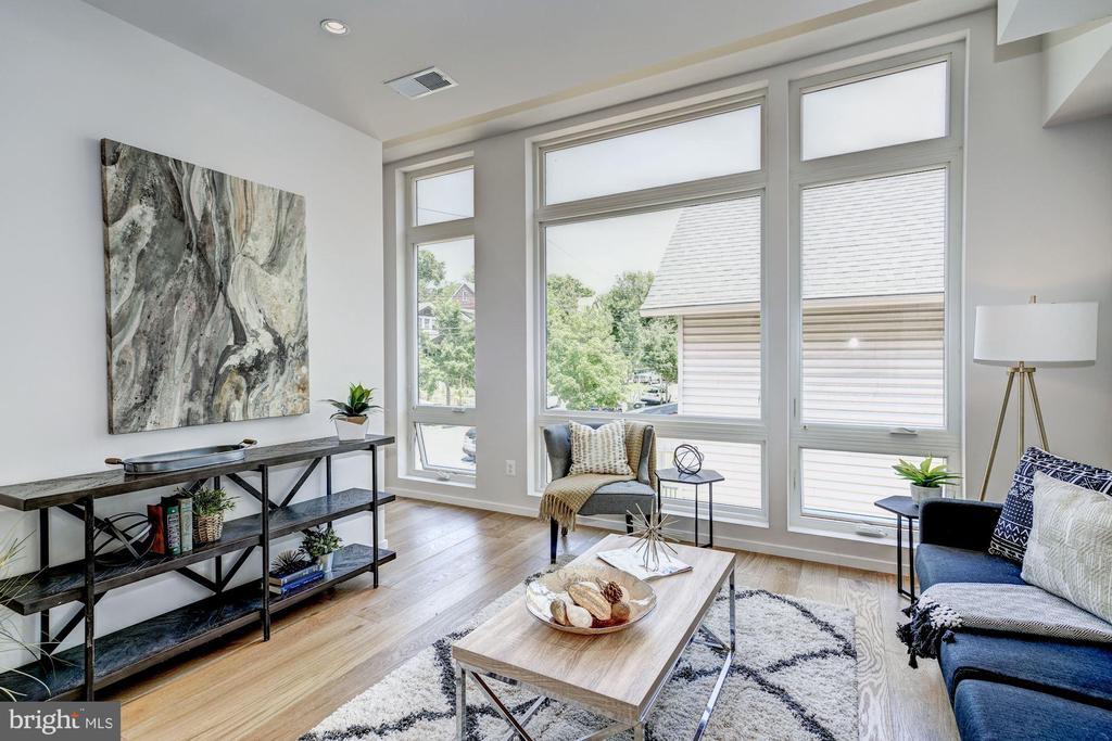 Living room - 1201 KEARNY ST NE #202, WASHINGTON