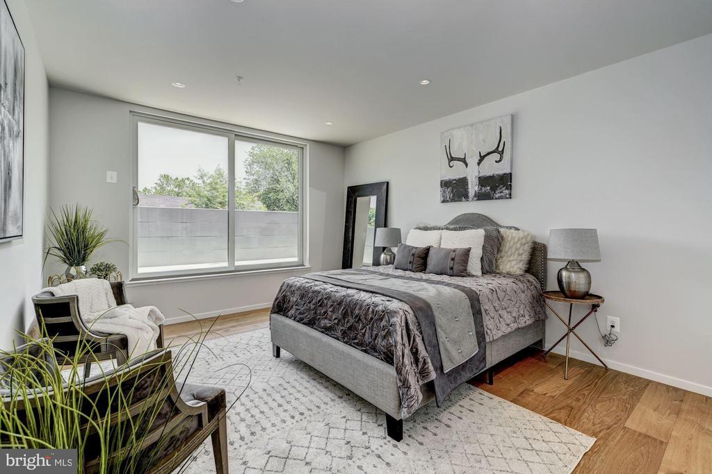 2nd bedroom  on 2nd level - 1201 KEARNY ST NE #202, WASHINGTON