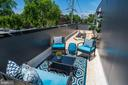 Perfect outdoor deck for morning coffee - 1201 KEARNY ST NE #202, WASHINGTON