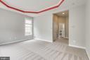Main level master has private bath - 43725 COLLETT MILL CT, LEESBURG