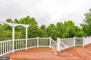 Large deck is ready for your bbq and furniture - 43725 COLLETT MILL CT, LEESBURG