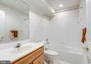 Full bath on the lower level - 43725 COLLETT MILL CT, LEESBURG