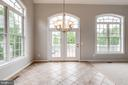 Door takes you out to spacious deck - 43725 COLLETT MILL CT, LEESBURG