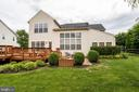 View of the Rear Exterior - 13509 SHEARWATER PL, GERMANTOWN