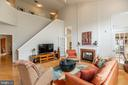Two Story Family Room - 13509 SHEARWATER PL, GERMANTOWN
