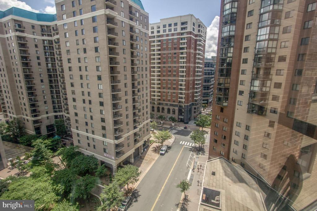 One view from Sunroom - 900 N STAFFORD ST #1218, ARLINGTON