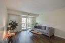 Living area has walkout to Sunroom - 900 N STAFFORD ST #1218, ARLINGTON