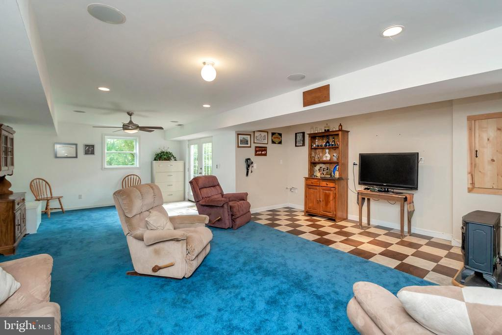 Walk-Out Family Room - 7329 CLOVERHILL RD, SPOTSYLVANIA