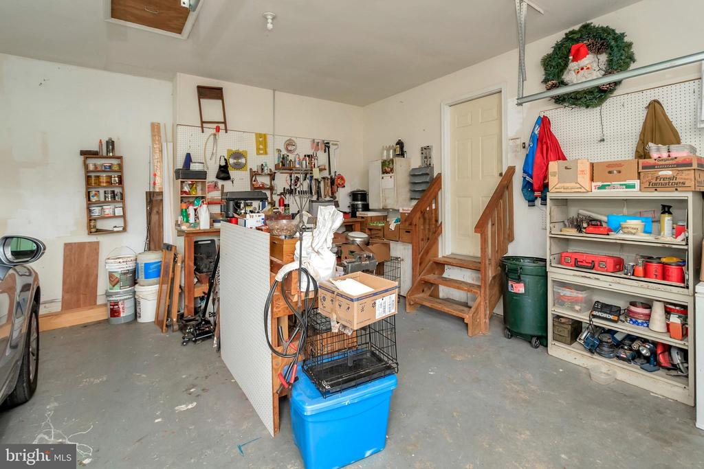 View into Attached 2 Garage - 7329 CLOVERHILL RD, SPOTSYLVANIA