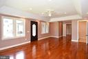 Main level master suite - 120 KINGSLEY RD SW, VIENNA