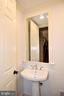 Main Level half bath - 120 KINGSLEY RD SW, VIENNA