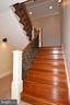 Stair to lower basement - 120 KINGSLEY RD SW, VIENNA