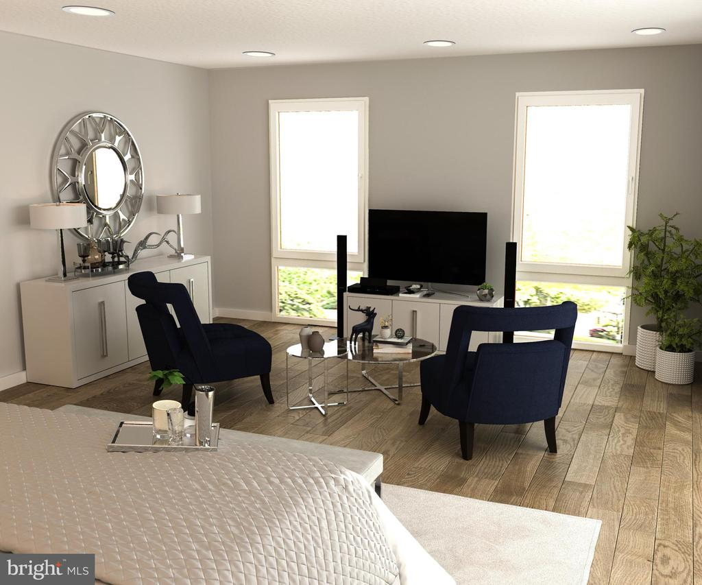 Master Bedroom Seating Area - 5706 NEVADA AVE NW, WASHINGTON
