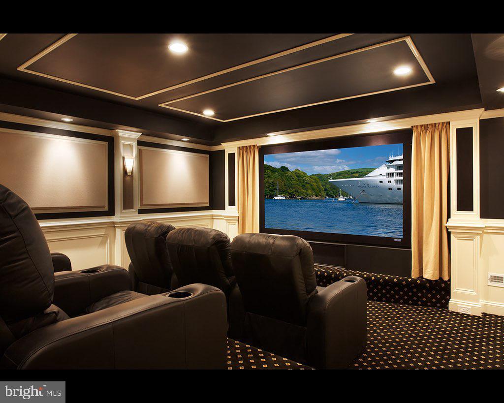 Home theater - 40186 MONROE VALLEY PL, ALDIE