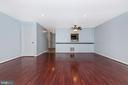 Living/Dining Room - 16 WELLSPRING CIR, OWINGS MILLS