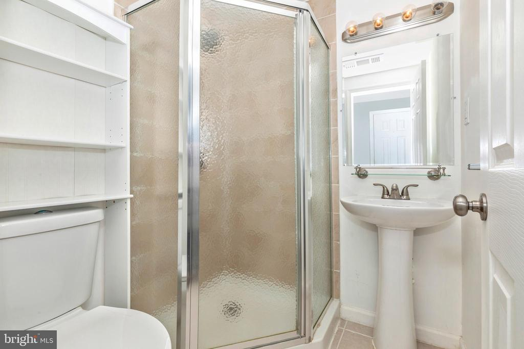 Lower Level Full Bathroom - 16 WELLSPRING CIR, OWINGS MILLS