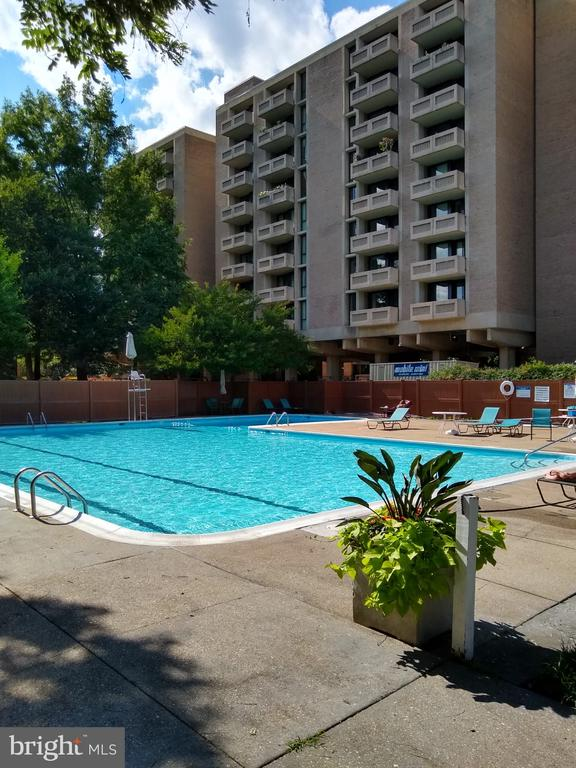 Olympic Size Pool with lap and bathing areas - 276 M ST SW #276, WASHINGTON