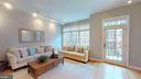 Living Room - 1610 N QUEEN ST #243, ARLINGTON