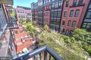Balcony Overlooks Courtyard - 1610 N QUEEN ST #243, ARLINGTON